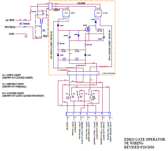 EDKO_RelayModuleandLimitSwtichWiring2 edko ssl ssw msw rsl msl ml slg gsl csw asw hsw bar electrical electric gate wiring diagram at reclaimingppi.co