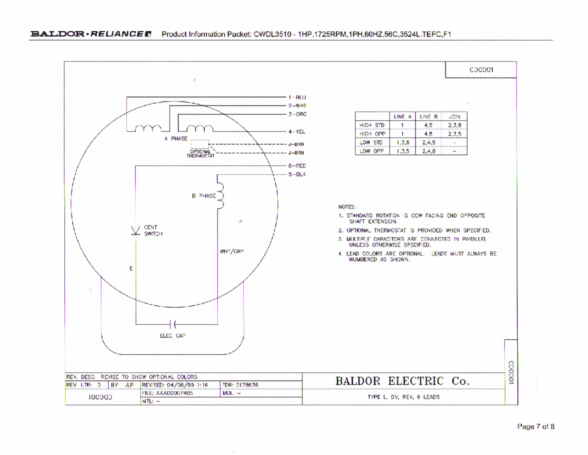 Baldor1HPmotorwiring wiring information dayton 115v winch wiring diagram at crackthecode.co