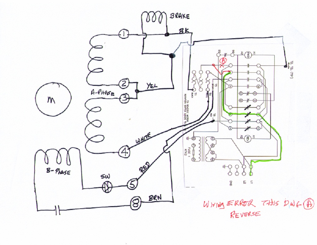 wiring information the correction has been made and the main relay drawing and wire list shows the corrected relay interconnection schematic