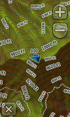 Garmins K Maps - Topo us 24k mountain central map